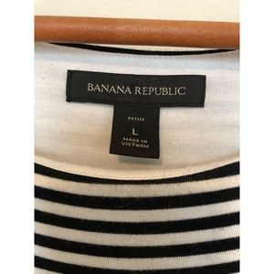 Banana Republic Dresses - Banana Republic Striped Jersey/Snitty Dress